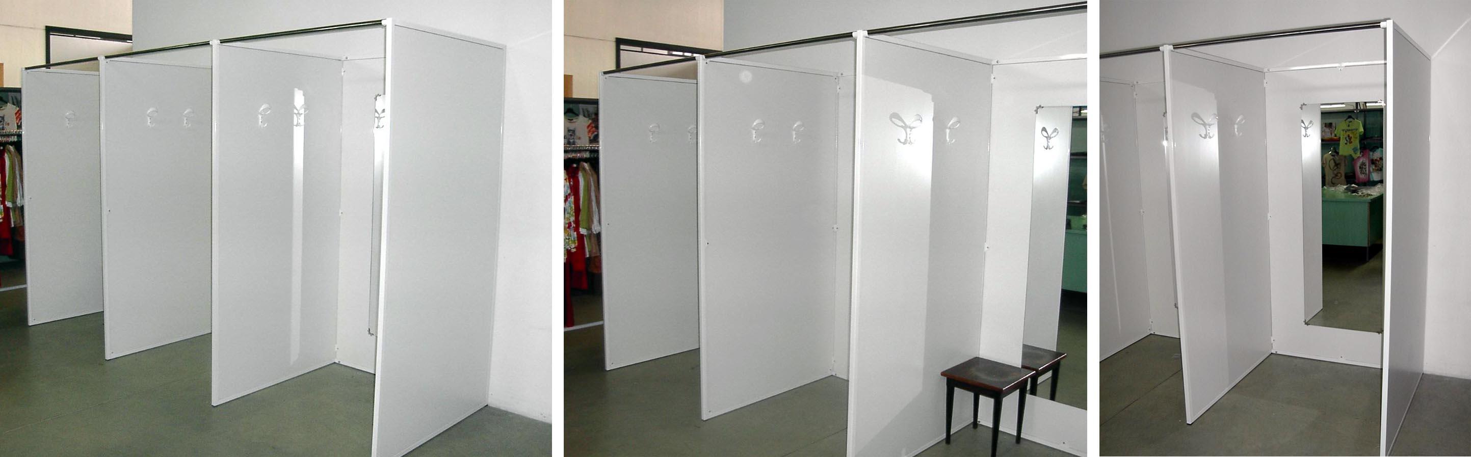 Le cabine prova per il web il rischio dei negozi classici - Dimensione mobili ...